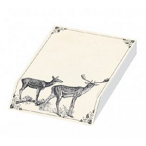 Slant pad : Deer design